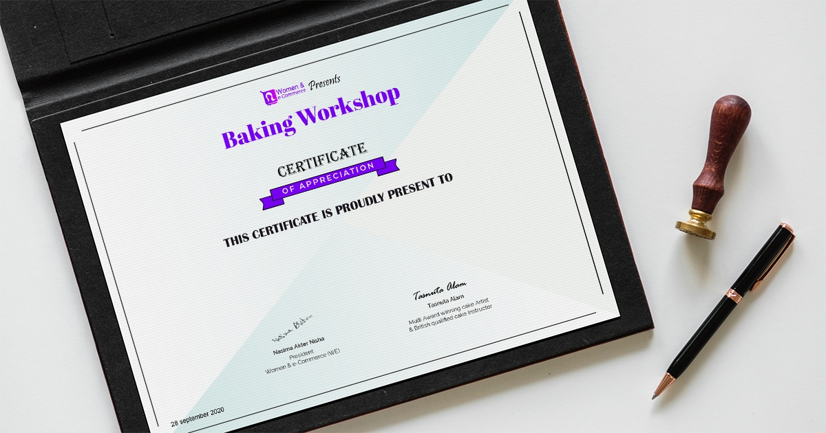 WE Presents Baking Workshop